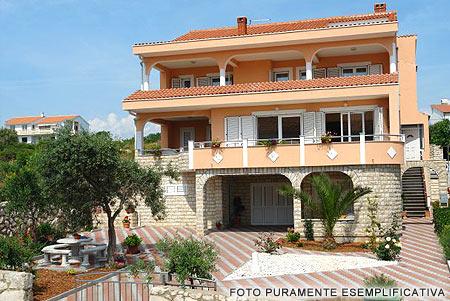 appartamenti a novalja e traghetto isola di pag croazia